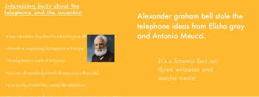 facts about alexander graham bell s telephone lily s book on alexander graham bell