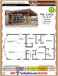 2754 was 2752 prow cabin all american homes modular home
