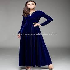 fashion long sleeve maxi dress 2014 royal blue velvet dress buy