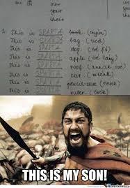 Sparta Meme - sparta s son by reirhart luna meme center