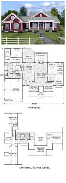 how to find blueprints of your house house plan 74834 total living area 2294 sq ft 3 bedrooms 3 5