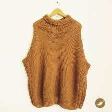 ponchos a palillo poncho tejido a palillo en lana de alpaca diseño de andeanhands