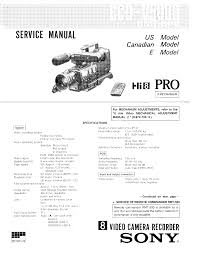 sony ccd v5000 sm service manual download schematics eeprom