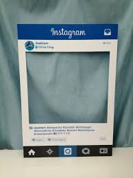 diy photo booth frame ohhh this would be so cool haha large personalised instagram