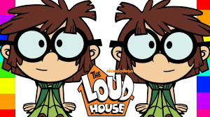 coloring lisa loud the loud house nickelodeon coloring pages for