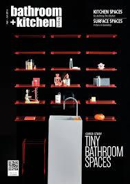 Sharp Contrast Defines The Kitchen Bathroom Kitchen Today Vol 2 2016 By Bathroom Kitchen