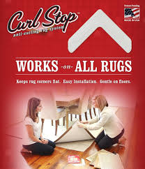 Outdoor Rugs That Can Get Wet by Amazon Com Curl Stop Anti Curling Rug System Pack Of 4 Corners