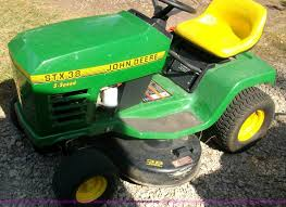 john deere stx38 lawn mower item b1432 sold wednesday a