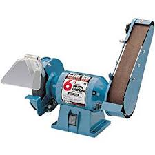 Bench Grinder Price Clarke Metalwork Bench Grinder Sand Belt 6 Inch Amazon Co Uk Diy