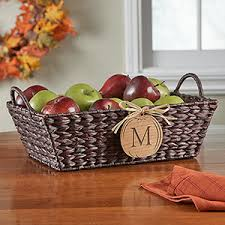 personalized basket personalized wicker storage basket fall pumpkin