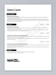 resume template microsoft word free download inside templates