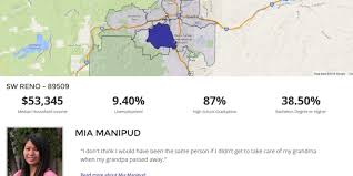 Zip Code Map Reno by Unr Student Project Dissects Reno By Zip Code