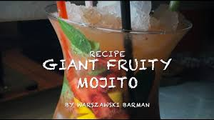 giant cocktail giant fruity mojito make your party great again youtube