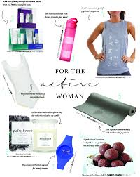 gifts for a woman christmas gift guide the active woman the fit foodie