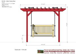 arbor swing plans home garden plans sw100 arbor swing plans swing woodworking
