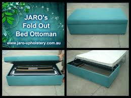 Ottoman Fold Out Bed Folding Bed Ottoman Etechconsulting Co