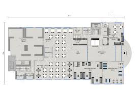 Floor Plan Hotel Hotel 8115 M2 Prefabricated Solutions