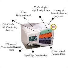 Memory Foam Futon Mattress Otis Bed Quasar 8