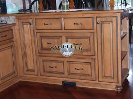 Black Glazed Kitchen Cabinets Maple Raised Panel Mueller Portfolio