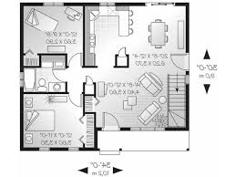 One Floor House Plans Picture House One Bedroom With Loft House Plans Decor Bfl09x 7070