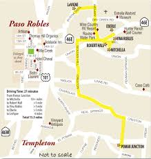 paso robles winery map paso robles east wine country this week magazine wineries