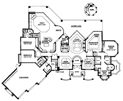 mediterranean style house plan 5 beds 5 5 baths 4403 sq ft plan