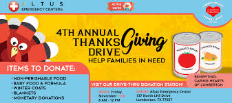 4th annual thanksgiving drive 24 7 er no wait times best