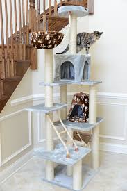 armarkat 78 inch cat tree silver gray chewy com