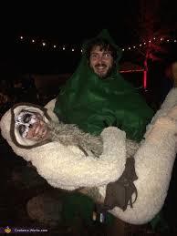 Sloth Animal Halloween Costume Sloth Tree Couple U0027s Halloween Costume Photo 2 3