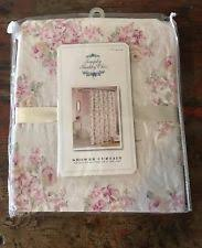 Country Chic Shower Curtains Simply Shabby Chic Cottage Shower Curtains Ebay