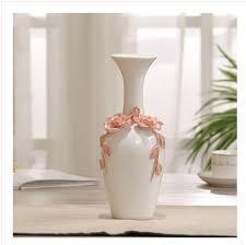 floor vases home decor aliexpress com buy ceramic red white flowers vase home decor large