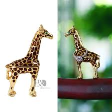 metal giraffe ring holder images H d 3inch vintage trinket box jeweled enameled handmade small jpg