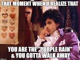 Lost Love Meme - image tagged in prince purple rain goodbye that moment when lost