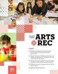 city of walnut creek guide to arts rec fall 2017 by city of