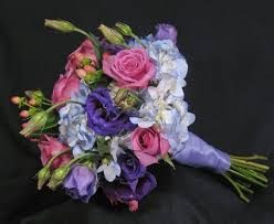 purple bouquets bridal bouquet in pink and purple hues bouquet wedding flower
