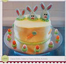 bunny tastic easter cake idea from the book 1 000 ideas for
