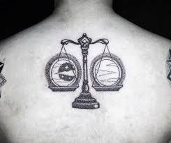 60 libra tattoos for balanced scale ink design ideas