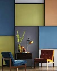 Yellow In Interior Design Color Blocking Wall Decals By Mina Javid For Blik Wall Decals