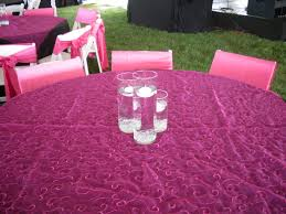fuschia pink table cloth events with design table cloth gallery pink organza swirl
