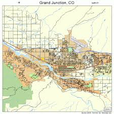 grand junction colorado map 0831660