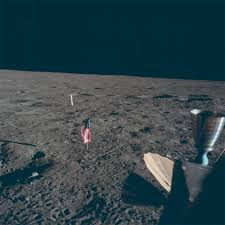 American Flag On The Moon Enough Lying New Photos Of The Moon Landing U2014 Bird In Flight