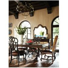 stanley dining room set stanley furniture 971 11 36 costa del sol palazzo principale