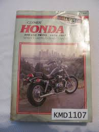 1978 1987 clymer honda motorcycle 400 450 cc twins service manual