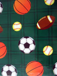 sports wrapping paper birthday gift wrap sports balls wrapping paper 36 sq ft