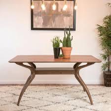 stockholm natural finish dining table natural dining table organic modern dining table natural dining room