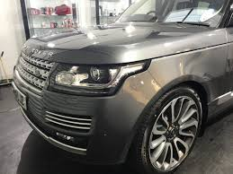 wrapped range rover autobiography 67 plate range rover gtechniq u0026 llumar protection reep yorkshire