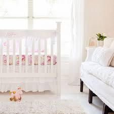 White Nursery Bedding Sets White Crib Bedding Set White Baby Bedding White Baby Bedding