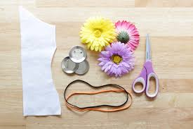 flowers for headbands how to flower accessories