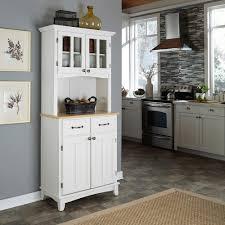 white kitchen hutch kitchens design