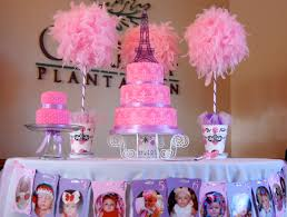 baby birthday decoration at home interior design fresh paris themed baby shower decorations